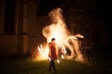 La Nina & Frowin,  Feuersterne und Feuerfächer