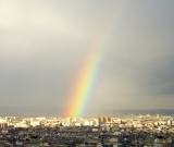 Regenbogen in Paris