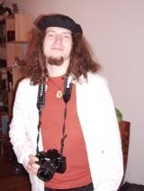 Richard Kahlig mit Fotoapparat
