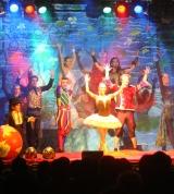 Artisten auf der Bühne, Rosengarten in Mannheim