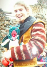 Frowin der Drachenhüter, Drachenpuppe Fibs