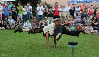 Akrobaten am Stadtfest Judenburg